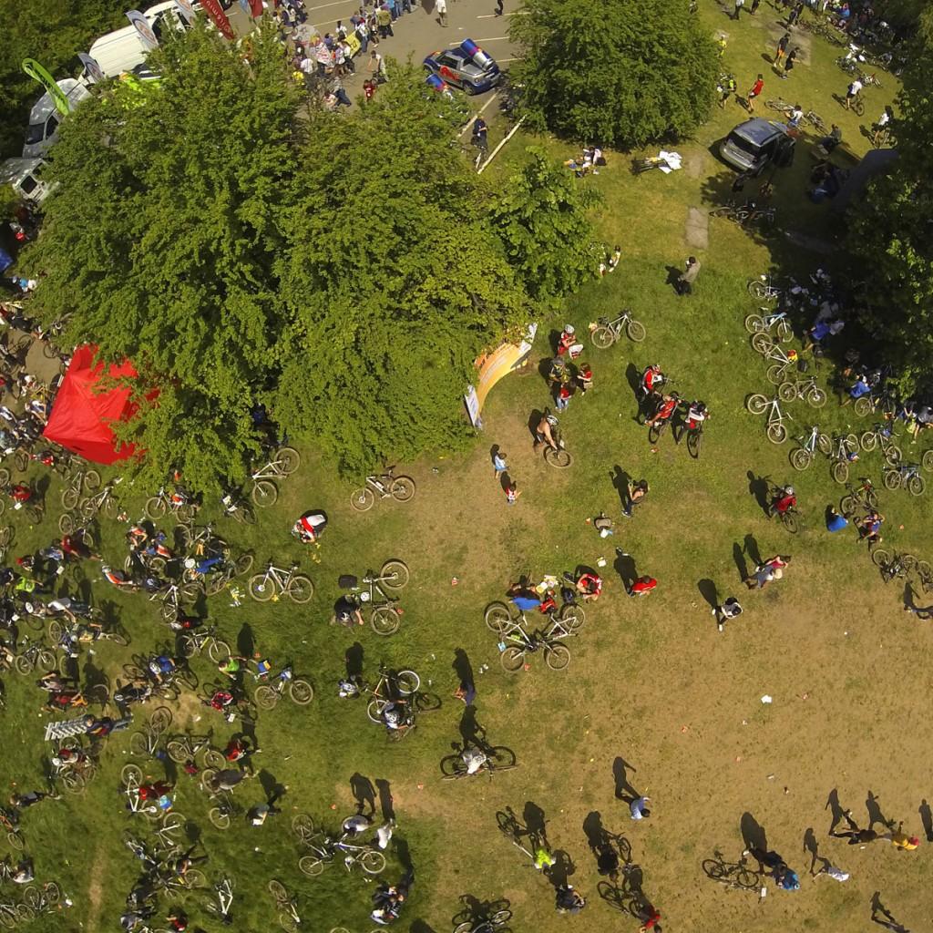 foto drona Prima Evadare 2015