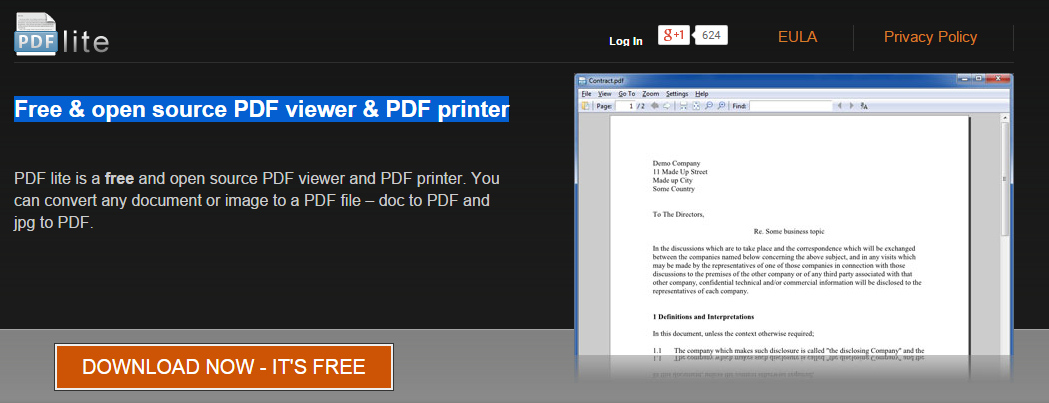 PDF Viewer and Printer