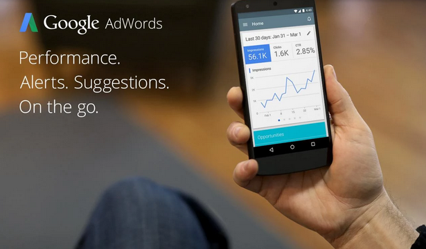 AdWords Android APP