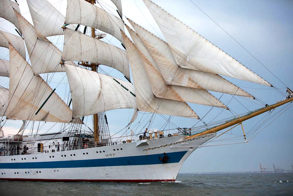 regata marilor veliere constanta