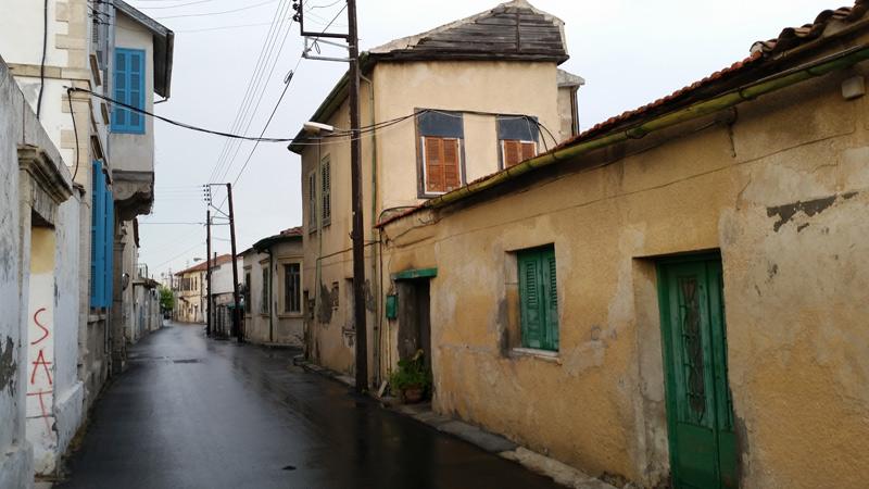 Centrul Vechi Larnaca. Partea mai puțin turistică.