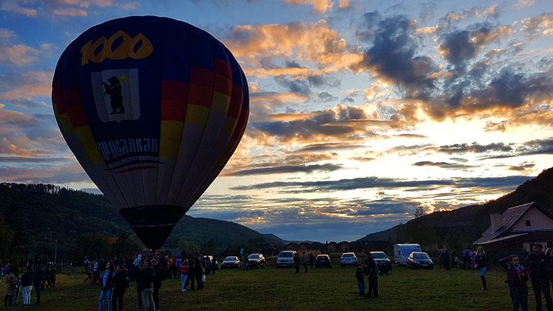 Festivalul baloanelor de la Campul Cetatii